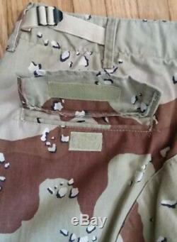 Kuwait Desert Camo Camouflage Uniform Set Size 42 shirt-34x32 pants