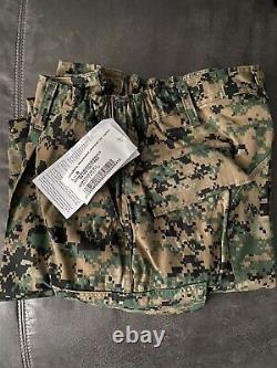 LARGE REGULAR USMC WOODLAND MARPAT Uniform SET Combat Shirt Pants LR NEW MCCUU