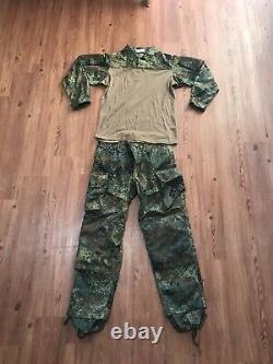 Leo Kholer Flecktarn KSK Combat Pants and Shirt (34 Waist / Large)