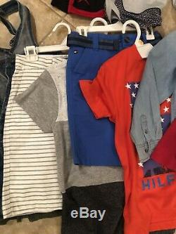 Lot Nike Polo Gap Boys Sz M 4 8 Shorts Pants Shirts Athletic & Dress Uniform