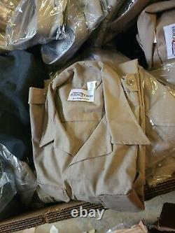 Lot of 500 Blauer Flying Cross Galls Duty Pro Uniform Shirts and Some Pants