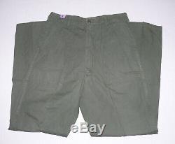 Lot of Vietnam Era Tropical Jungle Trousers Pants & Shirt Jacket
