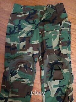 M81 Woodland G3 Combat Shirt Pants SEMAPO Gear Crye Tactical Uniform Size 34R