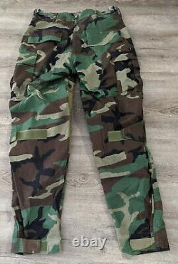 M81 Woodland G3 Combat Shirt/Pants Uniform Set Small w Crye Pads Made in USA