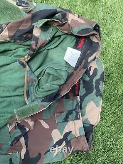 MARSOC Crye DRIFIRE Tricolor Combat Set (Pants, Shirt), XL With Knee/Elbow Pads