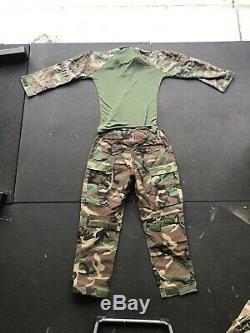 MARSOC Dry Fire Woodland Uniform NEW Sizes Pants 34short Shirt Medium