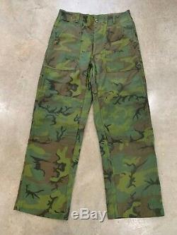 MINT 60s ARVN INVISIBLE Camo Jungle Shirt Jacket Pants Airborne Ranger Advisor