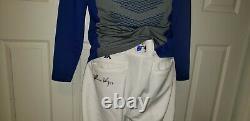 Matt Kemp Dodgers 2018 Game Used Autograph Players Jersey Shirt Pants Uniform