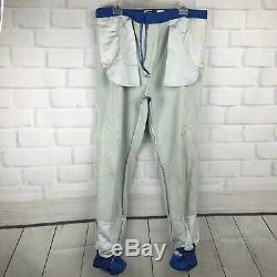 Men Nascar Pit Crew Uniform Large Best Western Napa Vintage Shirt Pants Made USA