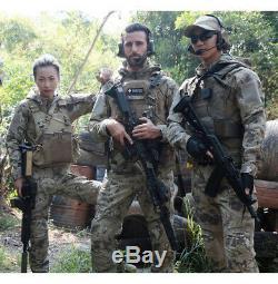Mens Army Combat Tactical Shirt Cargo Pants BDU Military Uniform SWAT Camouflage