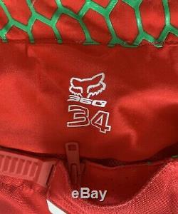 Mens FOX Dirt Bike Uniform (Pants&Shirt) (LIKE NEW) Size Large