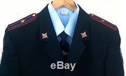 Modern Russian police (MVD) uniforms Shirt + tie +jacket+ pants