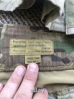 Multicam/OCP Emerson Combat Pants+ Shirt+ USGI Blouse Lot