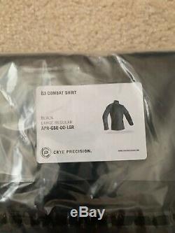 NEW Crye precision g3 combat pants 34L & Shirt LG-R, Black- SEALS, DEVGRU, SF