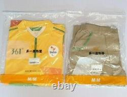 NEW Rio 2016 Games Official Volunteer Uniform T-shirt & Pants not 2021 Brazil