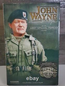 NIB Sideshow John Wayne Army Special Forces Tiger Stripe Camouflage Uniform 12