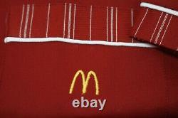 NOS Vtg McDonald's Uniform Set MEDIUM Shirt 33 Pants Dead Stock New 70s 80s