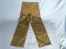 NOS WWII USMC P41 herringbone twill HBT utility 38 coat shirt 32 trousers pants