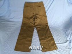 NOS WWII USMC P41 herringbone twill HBT utility 40 coat shirt 34 trousers pants