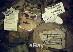 NWT Multicam OCP Flame Insect Army Combat Shirt, Trousers/Pants & Jacket Large R