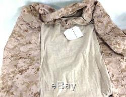 NWT USMC Desert Digital Frog Shirt & Frog Pants Camouflage