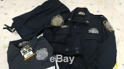 NYPD CTB BDU uniform shirt pants raid jacket set