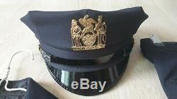 NYPD navy uniform shirts pants hat set for woman 5.11 tactical