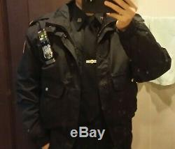 NYPD officer rank uniform set shirts pants
