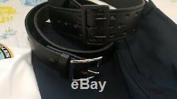 NYPD woman uniform shirt pant hat belt badge set costume(Cosplay)