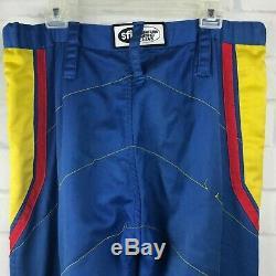 Nascar Pit Crew Uniform Vintage Shirt Pants Large Best Western Napa Made in USA