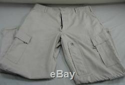 New Gibson & Barnes 2 Piece Flight Suit Tan Nomex Iiia Shirt 44 R Pants 35 USA