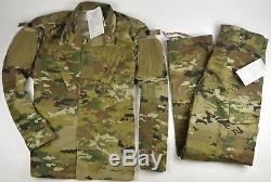 New Usgi Army Military Uniform Scorpion W2 Ocp Camo Shirt Pant Sr Small Regular