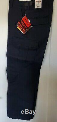 Nomex Flame Resistant Elbeco Tactical BDU Long Sleeve/Pants Uniform Shirt -NAVY