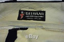 OBSOLETE 1950s-era Missouri State Highway Patrol Uniform Shirt/Pants Gelhaar CC