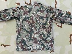 OLD Spanish 1970s M-76 Rocoso Amoeba Legion Extranjera Uniform Shirt Pants Spain