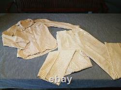 ORIGINAL WW2 U. S. Army Nurse Corps Seersucker Shirt and Pants set WWII ANC WOW