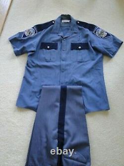 Obsolete Nevada Highway Patrol uniform shirt and pants