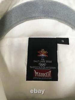 Official Salt Lake 2002 Olympic Torch Relay Uniform Jacket Pants Shirt Size S