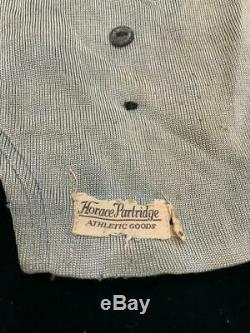 Old 1930s Depression Mens Athletic Football Uniform Helmet Pads Pants Shirt #29