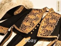 Original Japanese WW2 Navy uniform withhat shirt and pants collectible Vintage