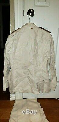 Original Japanese WW2 navy uniform shirt and pants collectible antique
