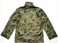 Original Polish Army Pants Shirt Combat Uniform Woodland Rip-stop Poland L/xl