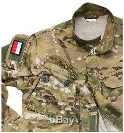 Original Polish Army Pants + Shirt Uniform Multicam Special Forces Grom 92/163