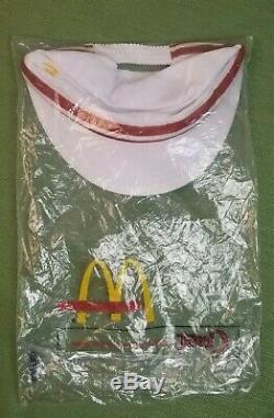 Original Vintage 1976 McDonald's Uniform Jacket and Pants WITH HAT
