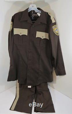 Outsiders WGN Screen Used Sheriff Houghton Uniform Shirt & Pants