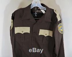 Outsiders WGN Screen Used Sheriff Houghton Uniform Shirt & Pants