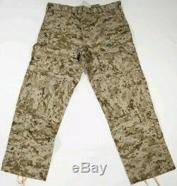 Paraclete SOF Desert Digitial AOR1 BDU PANTS SHIRT Battle Uniform Extra Large XL
