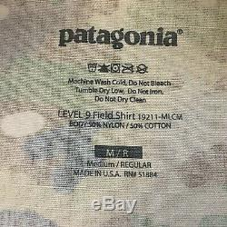 Patagonia Level 9 Combat Pant 34 Regular & Field Shirt Medium Regular OCP NEW