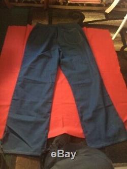 Prison Uniform(California Blues) Authentic, 2 Shirts, pants, And Jacket