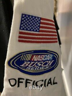 Raced Used NASCAR Racing Busch Series RACE OFFICIAL Uniform Shirt & Pants